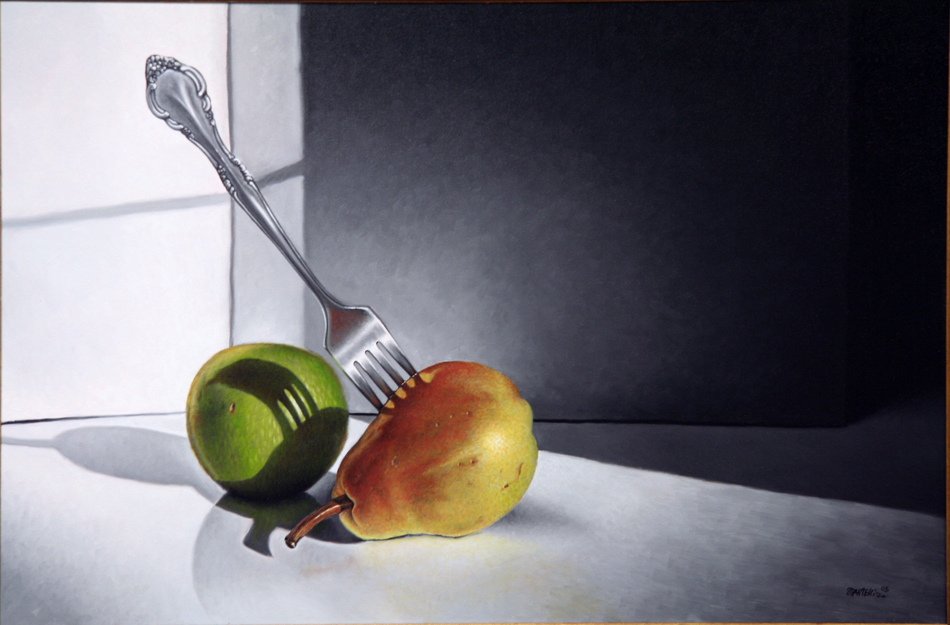 Apple fork n pear